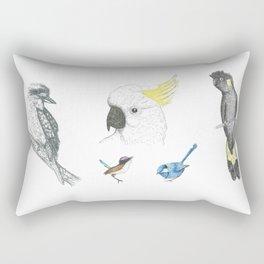 Australian Native Birds - Series 2 Rectangular Pillow