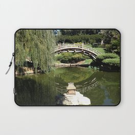 Meanwhile, in the Japanese Gardens... Laptop Sleeve