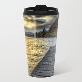 Loch Ard Jetty at Sunset Travel Mug