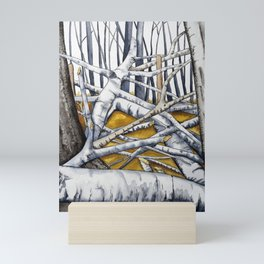 A tumble of branches Mini Art Print