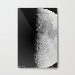 """""""Shoot for the moon and if you miss you will still be among the stars.""""-  Les Brown Metal Print"""
