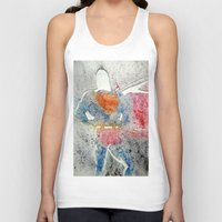 superman Tank Tops featuring Superman by Jennifer Cooper