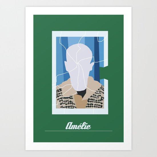 Amélie minimal Art Print