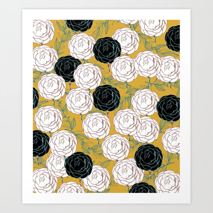 Carnations society6 decor buyart