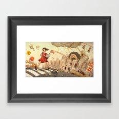 Keep Moving Forward Framed Art Print