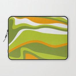 Pesto Orange and green Laptop Sleeve