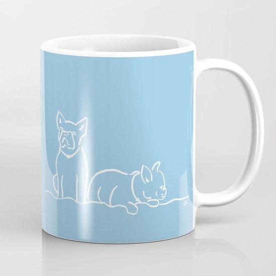City Dogs {Frenchies} Mug