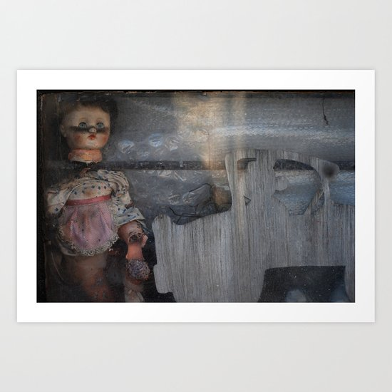 broken doll Art Print