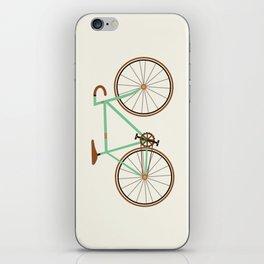 Green Fixie iPhone Skin