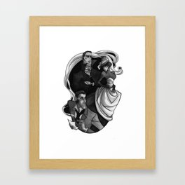 A Scandal in Bohemia Framed Art Print