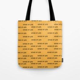 House of God all-over print_Orange Tote Bag