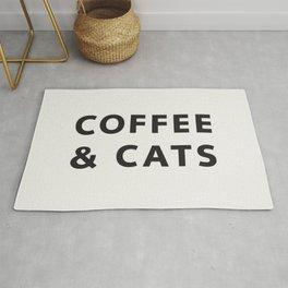 Coffee & Cats Rug