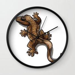 Climbing Crestie (tiger) Wall Clock