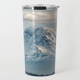 Seattle Mount Rainier Travel Mug