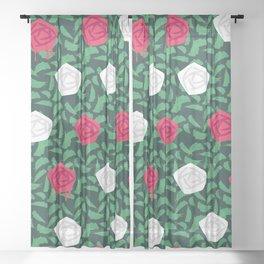 roses Sheer Curtain