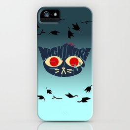 Mae - Nightmare eyes iPhone Case