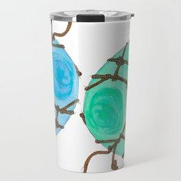 Glass Floats Travel Mug