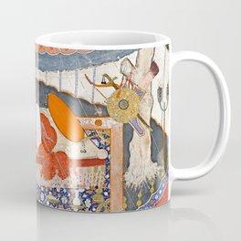 16th Century India Watercolor Painting Coffee Mug