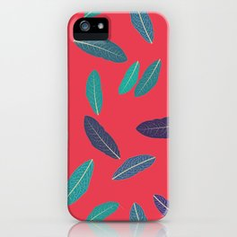 Pink Fall iPhone Case