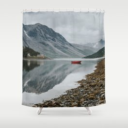 Norway I - Landscape and Nature Photography Shower Curtain