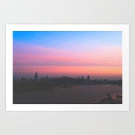 NYC Sunrise Art Print