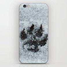 Printed In Snow iPhone & iPod Skin
