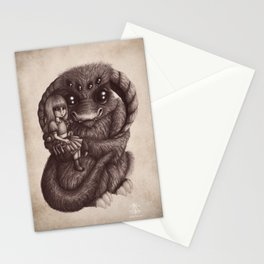 'Moe and the Captain' Stationery Cards