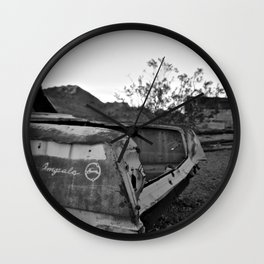 whose thirst is praise of clouds Wall Clock