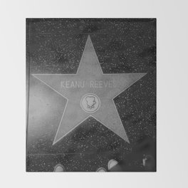 Keanu Reeves Throw Blanket