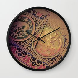 Deorsum Wall Clock