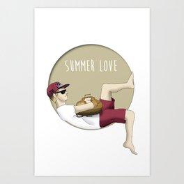 Niall Horan - Summer Love Art Print