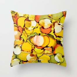 Under the Microscope No.3 Throw Pillow