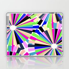 MULTI COLOURED WHEELS Laptop & iPad Skin