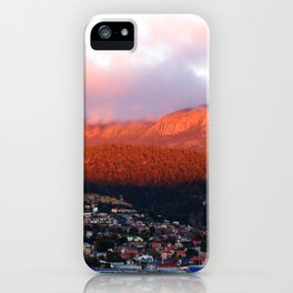 Dawn on Mt Wellington iPhone Case