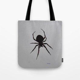 Orb Weaver Silhouette Tote Bag