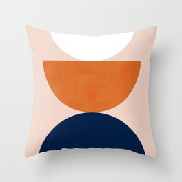 Abstraction_Balance_Minimalism_001 Throw Pillow