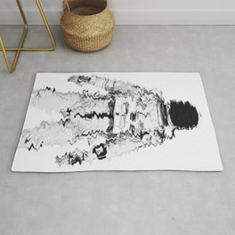 Melted spaceman Rug