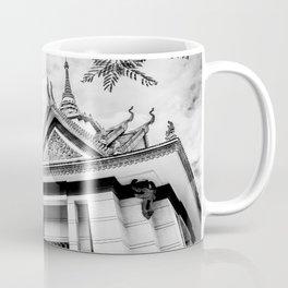 Killing Fields Stupa in Black & White, Cambodia Coffee Mug