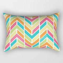 Beach Chev Rectangular Pillow