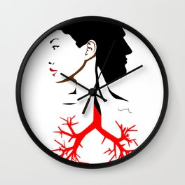 Dual thing Wall Clock