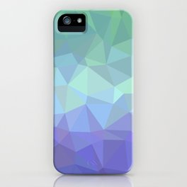 Home low polygon artwork iPhone Case