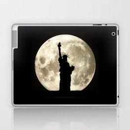 Full Moon Liberty Silhouette  Laptop & iPad Skin