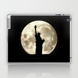 Full Moon Liberty Silhouette  Laptop & iPad Skin