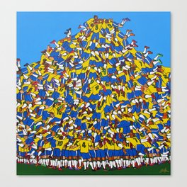 Gol do Brasil Canvas Print