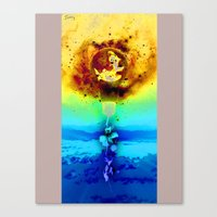 surrealism Canvas Prints featuring Surrealism by PlasmaGoo