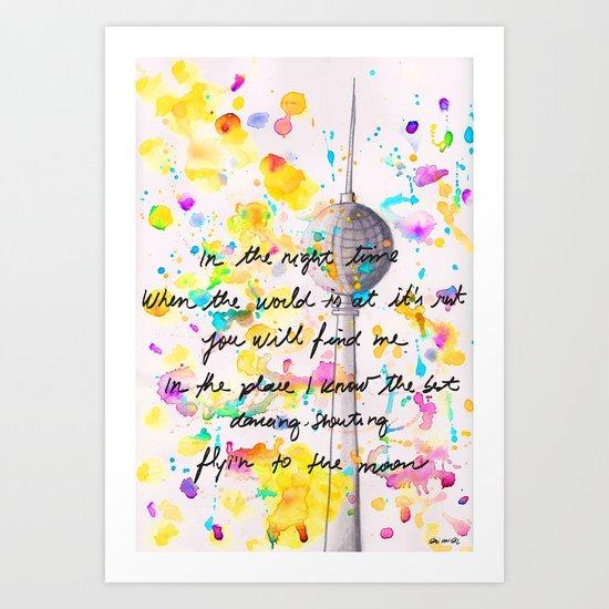 Bärlin! Art Print