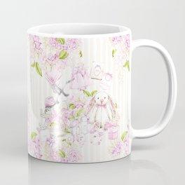 Oh Baby | Girl - Beige Pattern Coffee Mug
