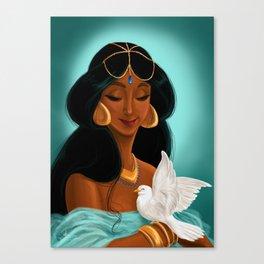 Her royal highness, the Sultana Jasmine Canvas Print