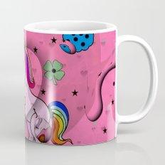 Unicorn Popart by Nico Bielow Mug
