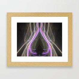 She Walked Away - MadeByDinh Framed Art Print